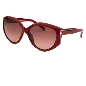 New Fendi Bordeaux Starlet Sunglasses w/ case